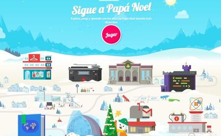 Window Y Sigue A Papa Noel De Google