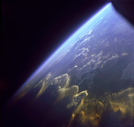Andes Mountains As Seen From Gemini 7 Gpn 2000 001067
