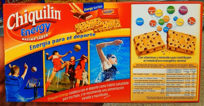 Galletas Chiquilín Energy: