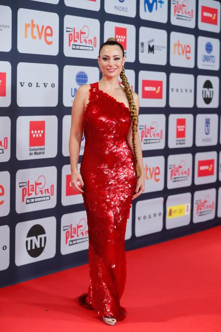 Premios Platino 2021 Natalia Verbeke