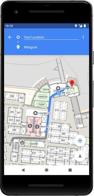 Nexus2cee Android® P Indoor Positioning 329x684
