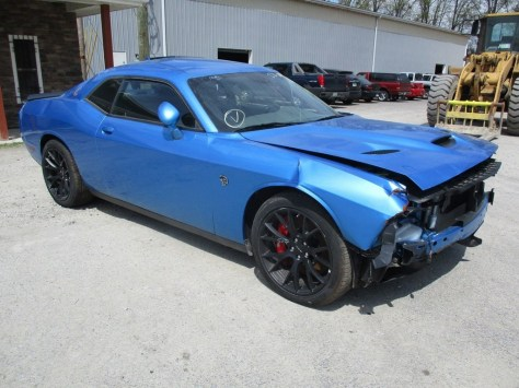 Hellcat Totaled Low Mileage 12
