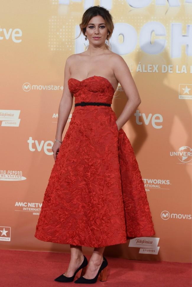 Blanca Suarez Mi Gran Noche Madrid Vestido Rojo 2