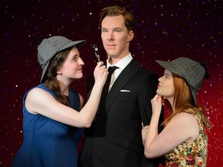 Muñeco de cera de Benedict Cumberbatch en el Museo Madame Tussauds de Londres. Imagen: Museo Madame Tussauds.