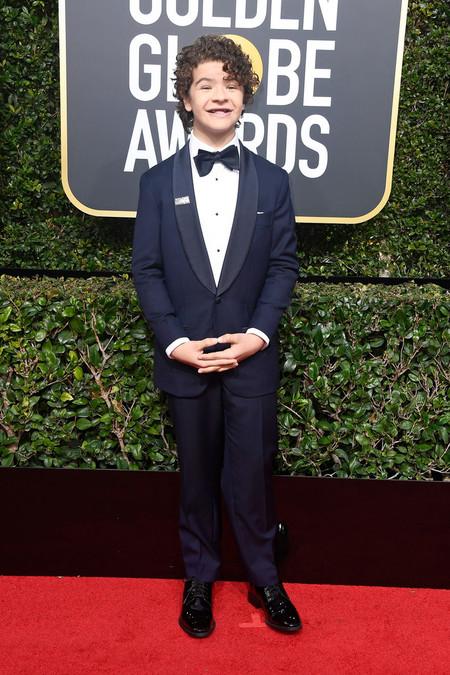Los Chicos De Stranger Things Vuelven A Convertirse En Iconos Para Los Golden Globes 2018 04