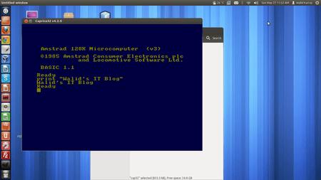 Caprice32 Ubuntu Linux Amstrad Cpc