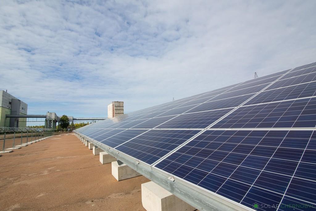Chernóbil vuelve a generar energía, ahora gracias a una planta solar establecida en la zona radioactiva