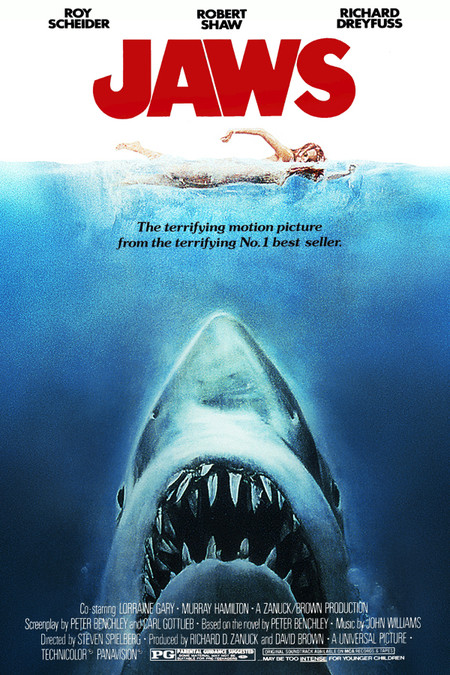 Jaws 1975 Poster