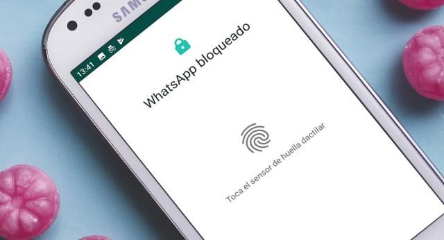 WhatsApp añde la opción de bloqueo con huella dactilar en todos los dispositivos Android