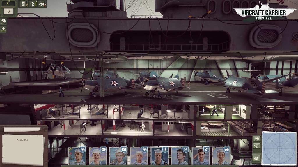 Aircraft Carrier Survival une dos de mis cosas favoritas: la ficción de batallas navales y los juegos de gestión