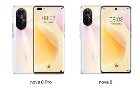 Huawei Nova 8 Pro Oficial Diseno Pantalla