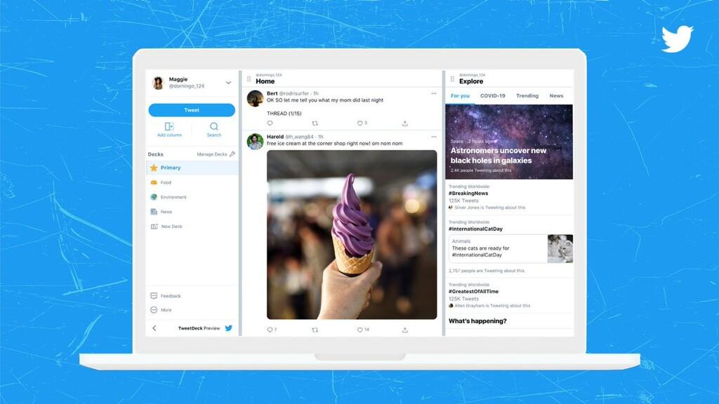 TweetDeck prueba una nueva interfaz y nuevas funciones: así puedes probarlas aunque Twitter no te haya elegido para ello