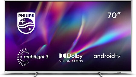 """This Philips Ambilight 70 """"2020 TV is a bargain for less than 900 euros on Amazon, reaching its all-time low price"""