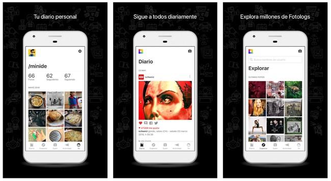 Fotolog Una Foto Al Dia Aplicaciones En Google Play