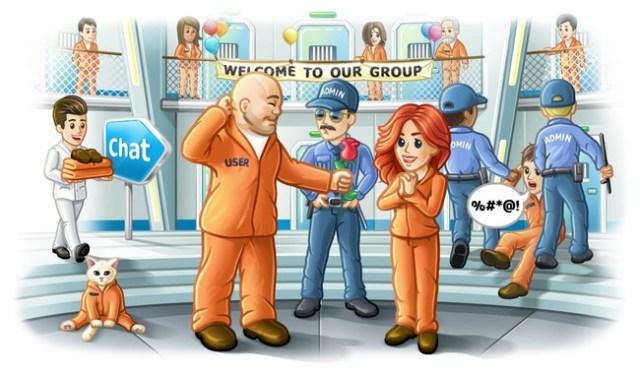 Los supergrupos de Telegram™ crecen incluso los 10.000 miembros, recientes poderes para los administradores