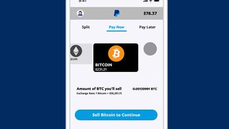 PayPal habilita el pago con Bitcoin, Bitcoin Cash, Ethereum y Litecoin en  Estados Unidos desde hoy