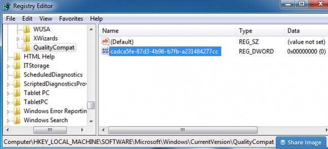 Registro De Windows