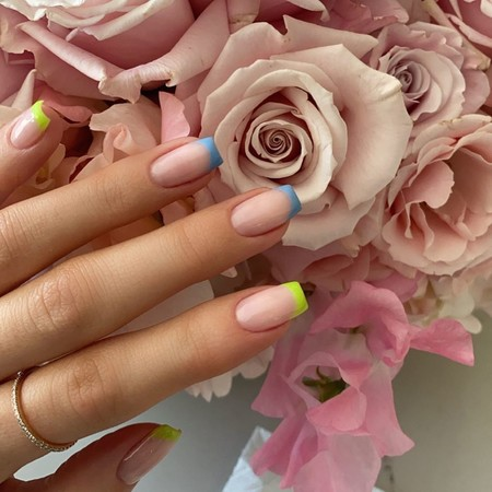 French Manicure Ss 2020 Kylie Jenner 02