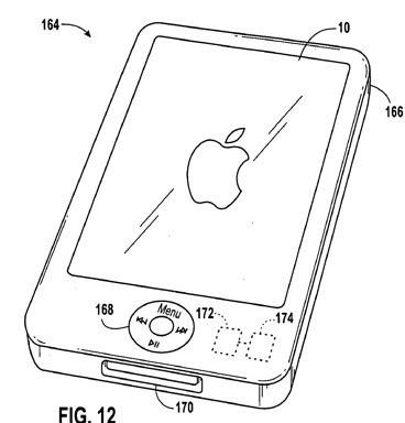 Lluvia de patentes en Apple: Docks moldeables, controles