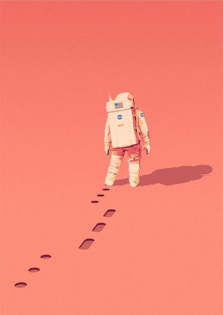The Martian ilustracion