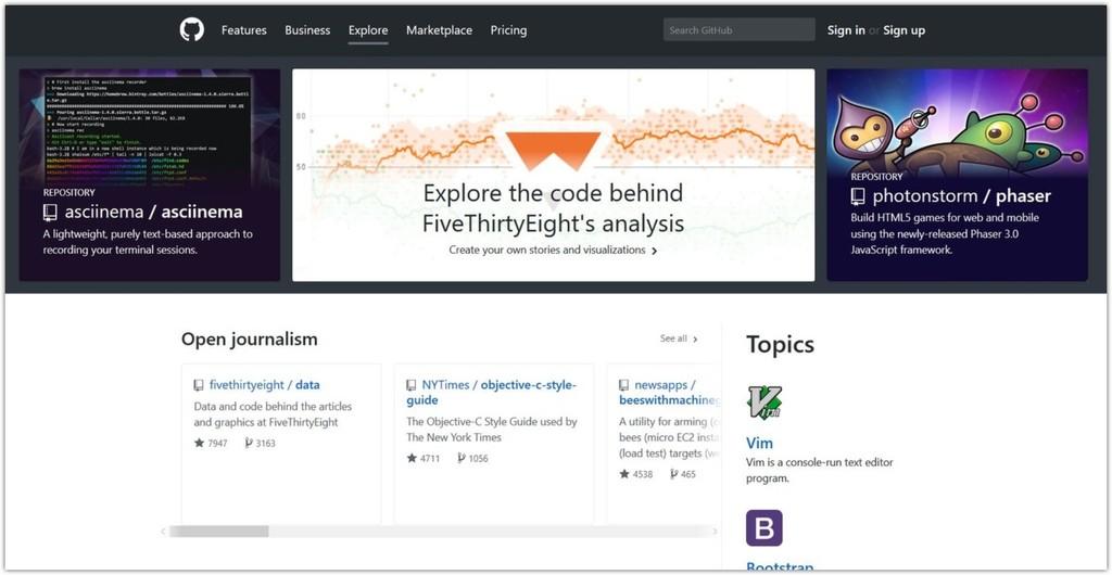 Captura Web Github