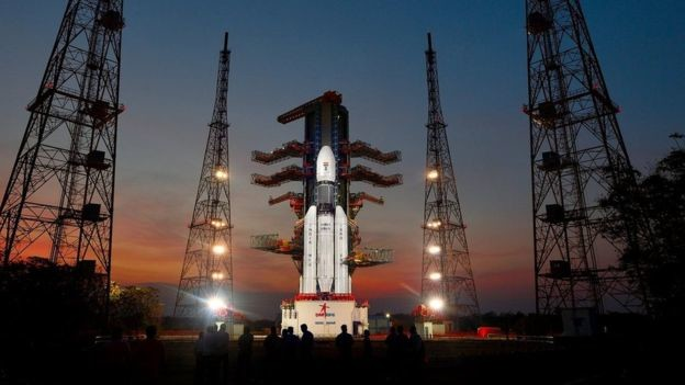96364359 Thefullyintegratedgslv Mkiii D1carryinggsat 19atthesecondlaunchpad Anotherview
