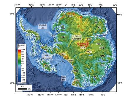 La Antártida sin hielo