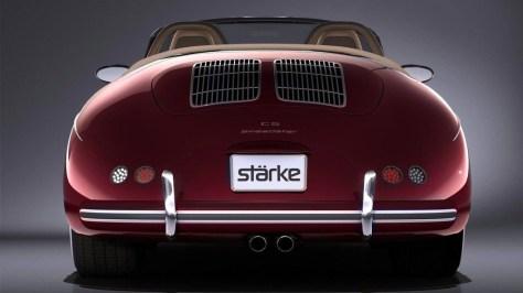 Stärke Revolution Speedster, o un Porsche Boxster moderno disfrazado de 356 Speedster