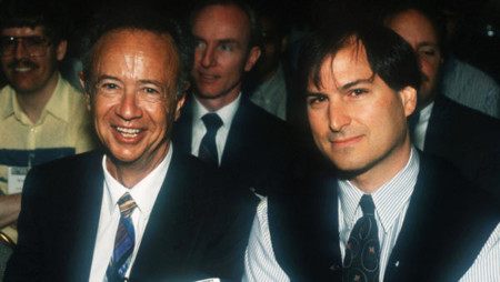 Steve Jobs Andy Grove