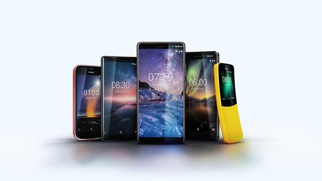 Nokia 7+, nuevo Nokia® seis y Nokia® 1