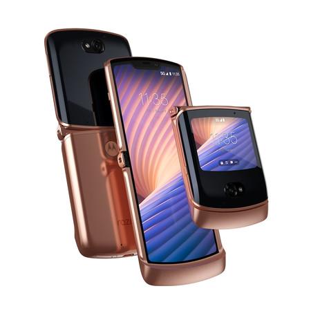 Motorola Razr 5g Blush Gold 01