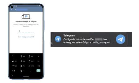Inicio Sesion Telegram