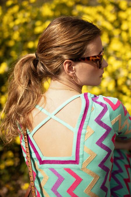 zigzag dress by ana boyer