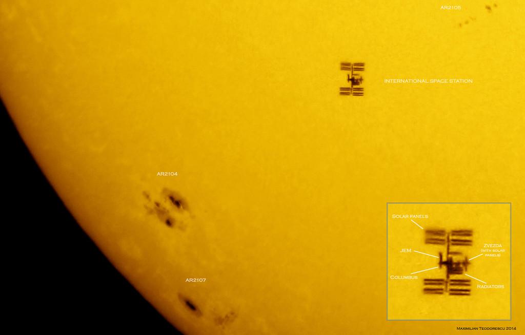 Permalink to Cómo ver pasar la ISS delante del Sol o la Luna