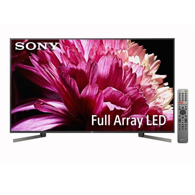 "TV LED 139,7 cm (55"") Sony KD-55XG9505 4K HDR, Full Array LED, Android 8.0 Oreo, X1 Ultimate, Acoustic Multi-Audio y Asistente de Google"