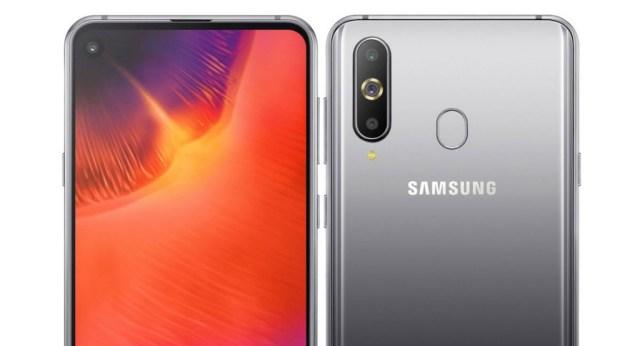 Samsung Galaxy℗ A9 Pro 2019: las pantallas Infinity-O salen de China(país) en este Galaxy℗ A8S renombrado