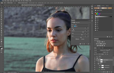 Corrección de estilo de color en photoshop