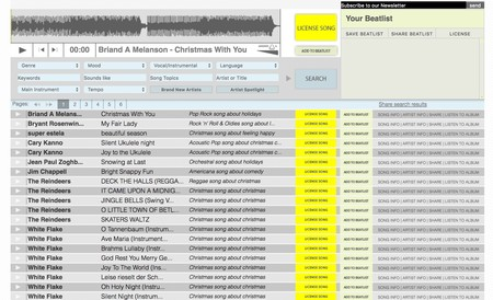 Window Y Beatpick Music Licensing For Film Tv And Advertising Use License Pre Cleared Music