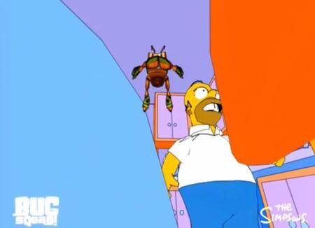 Bug Squad Simpson Homero