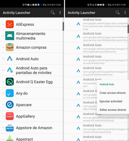 Android Auto Movil