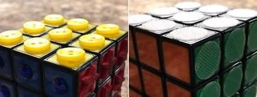 """El desafío de adaptar el cubo de Rubik para invidentes: desde """"apaños"""" domésticos a versiones comerciales"""