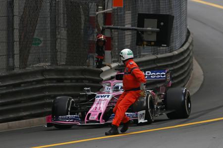 Sergio Perez Monaco F1 2019