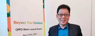 """""""Invertimos mucho en innovación y eso se refleja en el precio"""". Entrevista con Alen Wu, Vicepresidente global de Oppo"""