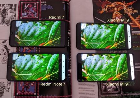 Comparativa Pantallas Xiaomi