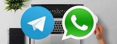 Cómo cambiar fotografías y vídeos entre terminal y PC con Telegram℗ y WhatsApp
