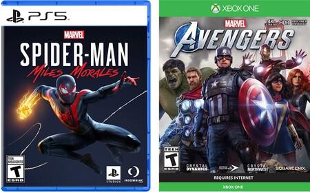 Videojuegos de Spider-Man y Avengers para Xbox One y PlayStation 4 en Amazon México
