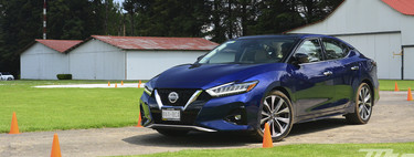 Nissan Maxima 2019, to the test: this is how Nissan wants to play in the big leagues