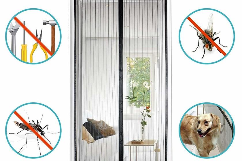 Las mejores cortinas mosquiteras de Amazon o al menos las