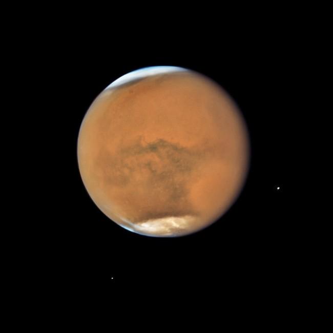 Permalink to Marte está en su punto más cercano a la Tierra desde 2003 y lo podemos ver en vídeo