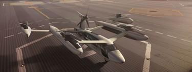 """Así son los prototipos de taxi volador y """"helipuertos"""" que Uber tiene en mente para conquistar el cielo"""